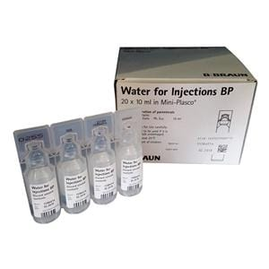 Water For Injection Mini-plasco 10ml Ampoule 20pk