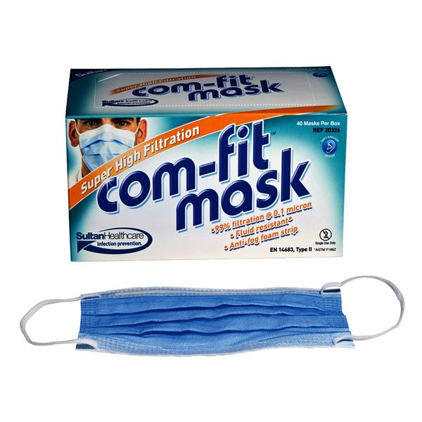 Com Fit Face Mask High Filtration Loop Type II 40pk