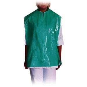 DEHP Patient Apron PE X/Long Green 80x54cm 200roll - suitable for patient only
