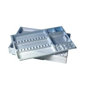 DEHP Instrument Tray Insert Disposable 28x18cm 50pk
