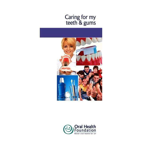 BDHF Leaflets Caring For My Teeth 50pk