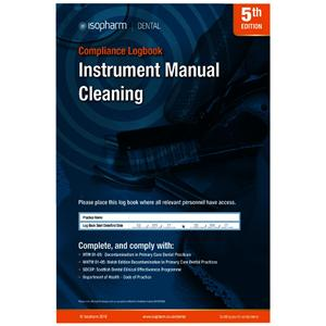 Manual Cleaning Compliance Logbook